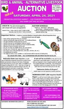 Alternative Animal & Equipment Auction